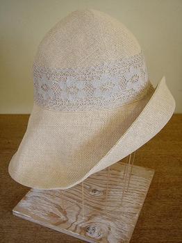 DSC09528 レース×ラフィア帽子.JPG